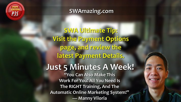 SWA Ultimate Payment Tip