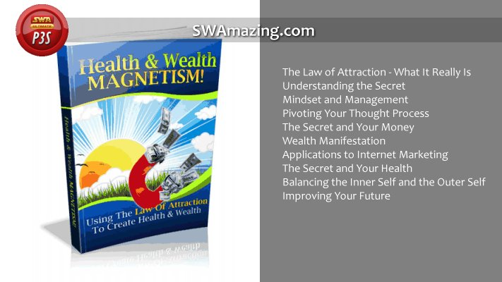 Ebook – Health and Wealth Magnetism