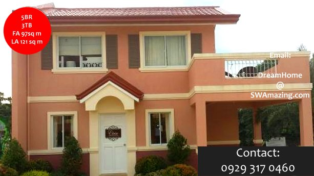5 Bedroom OverLooking House and Lot Antipolo Rizal Camella Montego