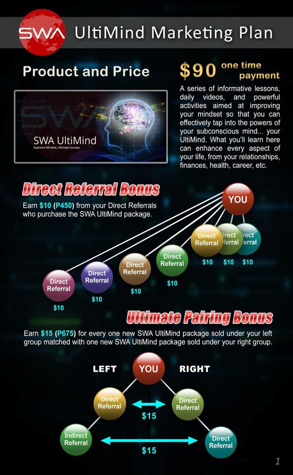 SWA UltiMind Marketing Plan