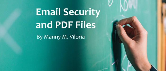 Email Security and PDF Files