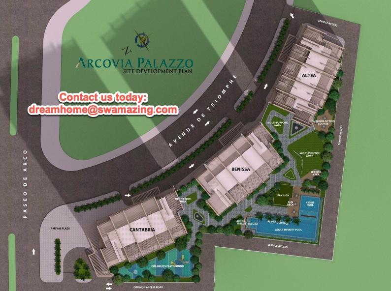 Arcovia Palazzo Site Development Plan